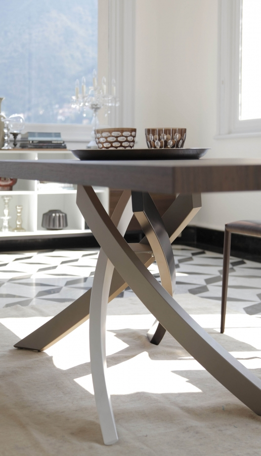 Artistico bontempi tables for Table extensible kristalia