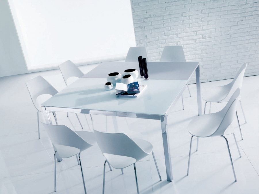 Mago bontempi tables for Table extensible kristalia