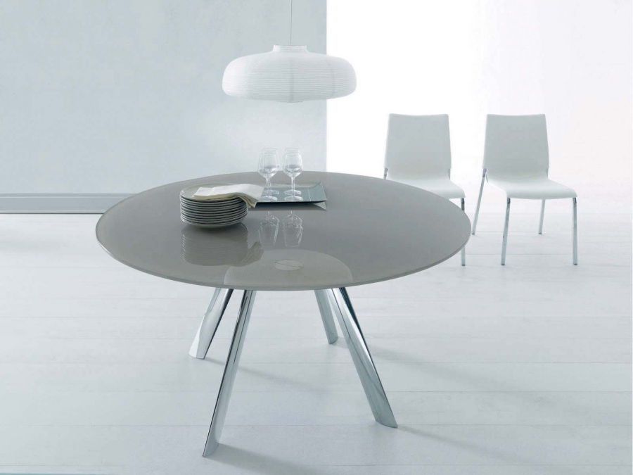 Giro bontempi tables for Table extensible kristalia