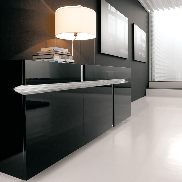 prisma cattelan italia sideboard. Black Bedroom Furniture Sets. Home Design Ideas