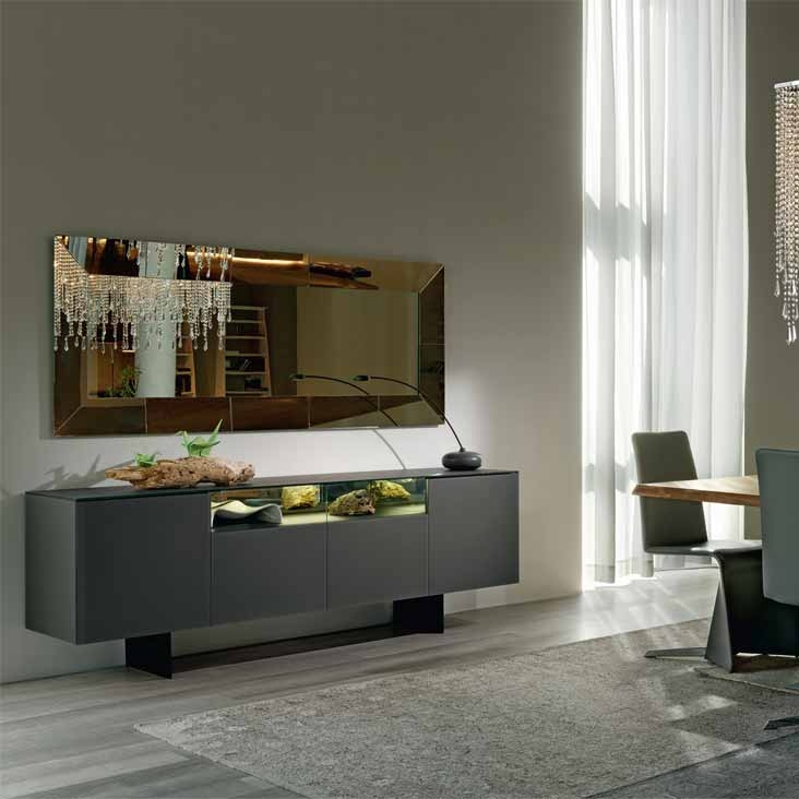 continental cattelan italia sideboard. Black Bedroom Furniture Sets. Home Design Ideas