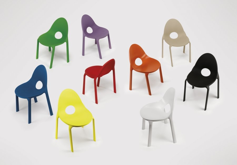 Drop infiniti chair for Sedie strane