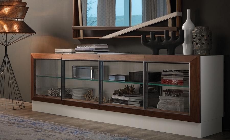 hilton cattelan italia sideboard. Black Bedroom Furniture Sets. Home Design Ideas