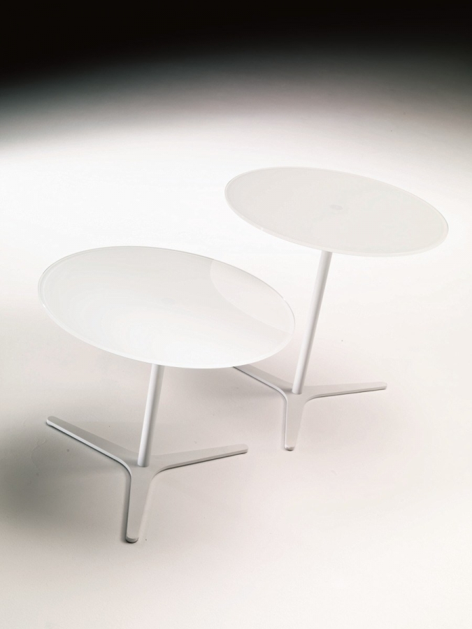 tavolini bontempi - Tavolino Acciaio Laccato Ginger Bontempi