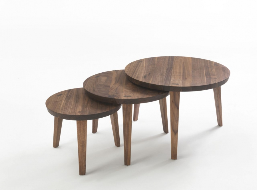Tao riva 1920 coffee table for Table basse round
