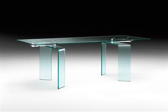 Tavoli In Cristallo Fiam Prezzi.Ray Ray Plus Fiam Tavoli
