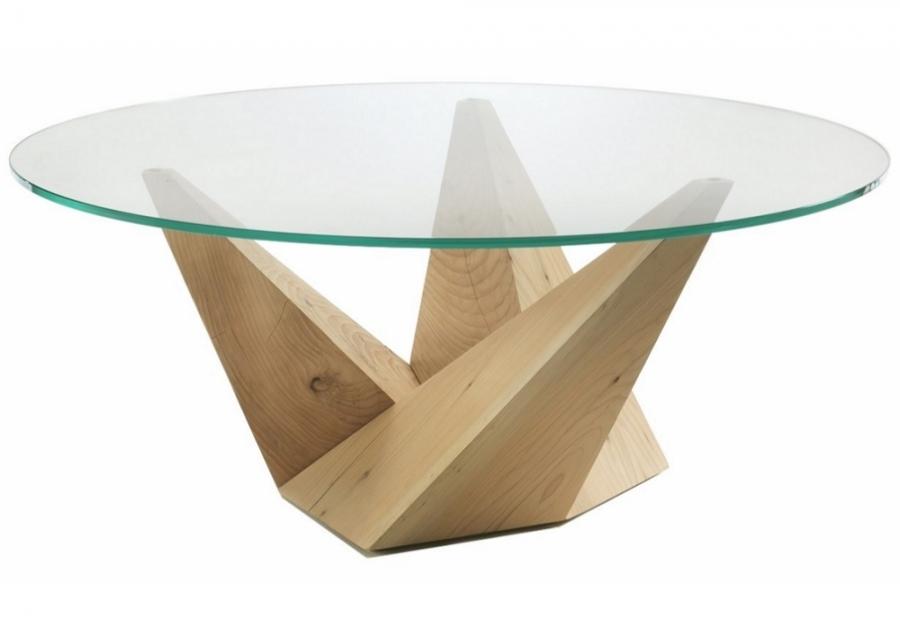 Peak riva 1920 tavoli for Tavolo rotondo kristalia