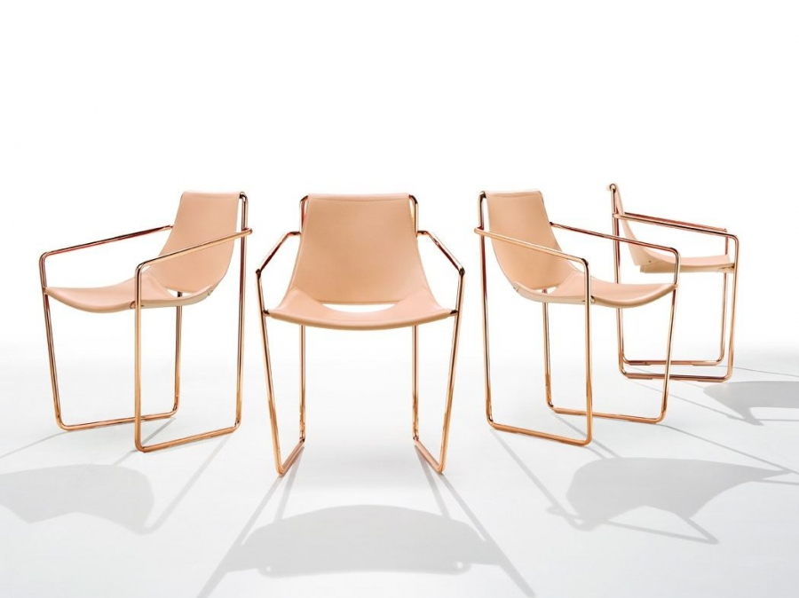 Pouf Poggiapiedi Cuoio Apelle Midj : Apelle midj sedie