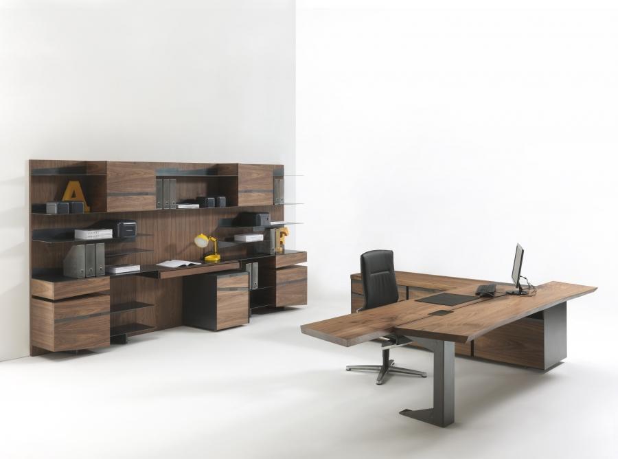 Implement office riva 1920 scrivanie ufficio for Office ufficio