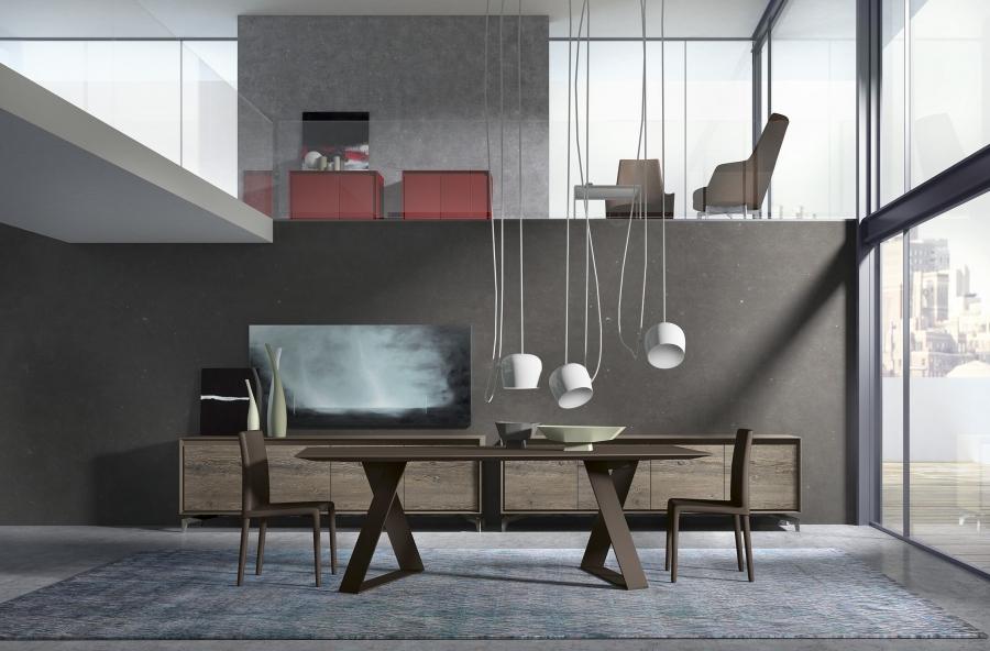 Zaffiro presotto tables for Presotto mobili