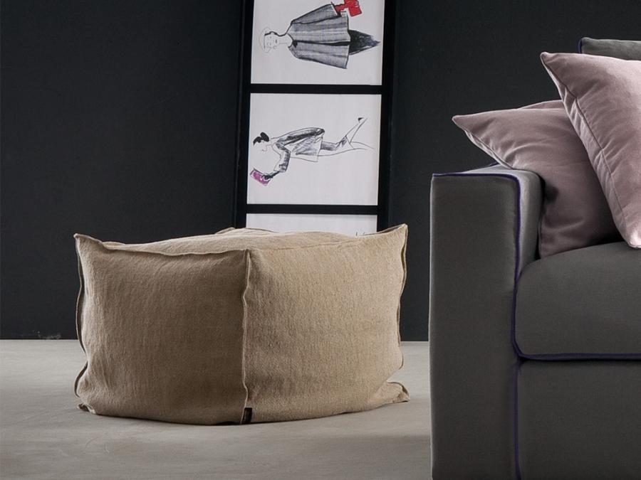Calypso chaarme pouf - Pouf letto design ...
