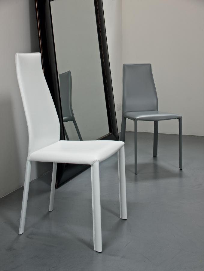 Sedia Moderna Cuoio Dalila Bontempi : Dalila bontempi sedie