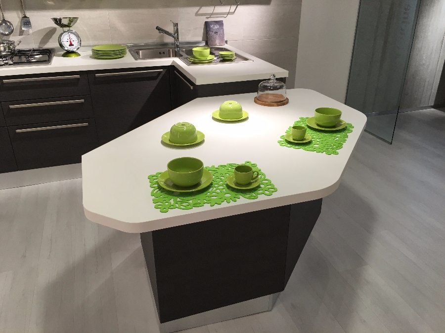Kitchen Carrera Lucido - Veneta Cucine - Kitchens