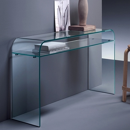 Elementare consolle fiam tavoli for Consolle vetro
