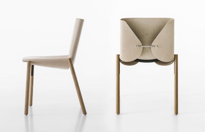 sedie - Sedia Massello Frassino Julia