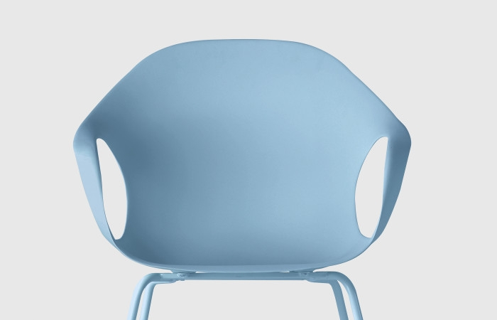 Elephant four legs outdoor kristalia sedie for Sedie kristalia outlet