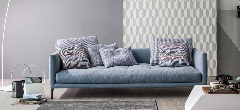 Divano Tessuto Sfoderabile Sinua Bonaldo : Coral bonaldo poltrone e divani