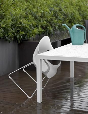 Elephant Slide Base Outdoor Kristalia Chair