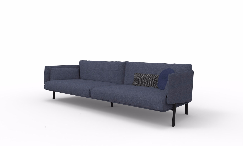 Pouf Struttura Metallo Alfie Bonaldo : Structure sofa bonaldo poltrone e divani