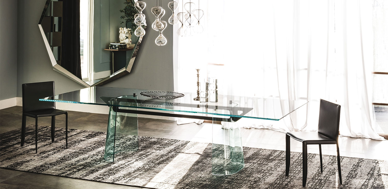 klirr cattelan italia tables. Black Bedroom Furniture Sets. Home Design Ideas