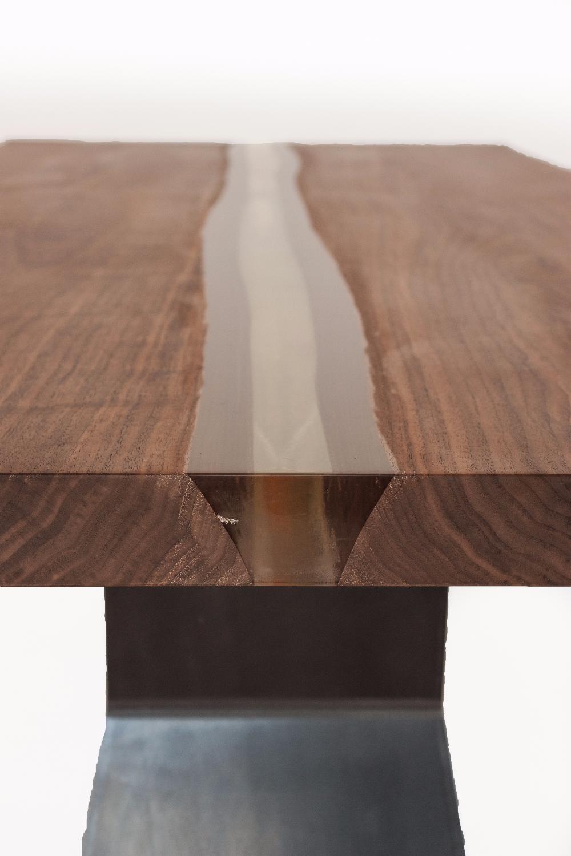 Tavolini Jesse : Bedrock plank c resin riva tavoli