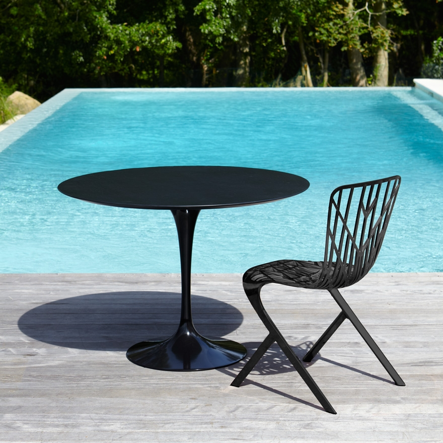 saarinen knoll outdoor tables. Black Bedroom Furniture Sets. Home Design Ideas