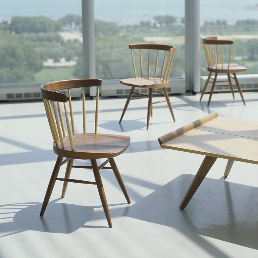 Straight knoll sedie for Sedie design knoll