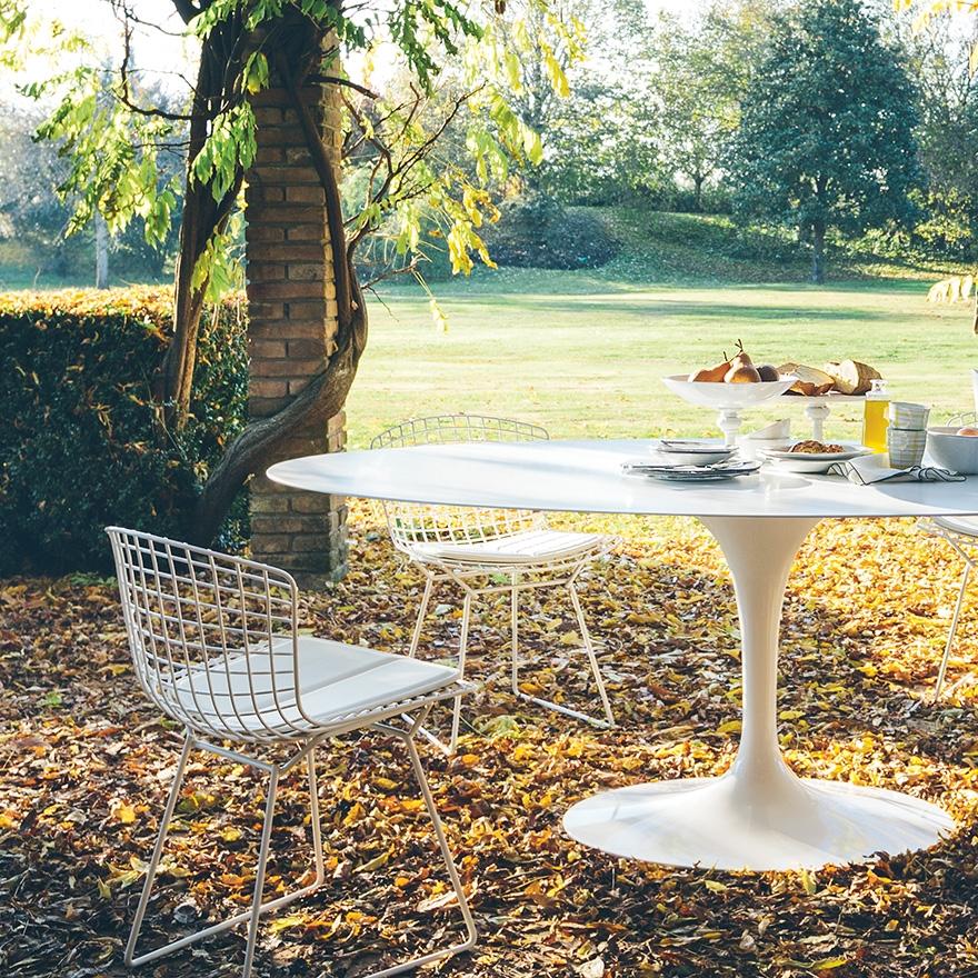 Bertoia knoll outdoor sedie for Sedie design knoll