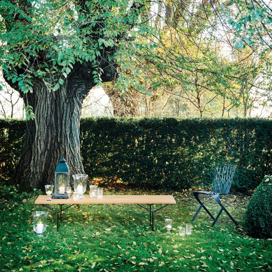 Bertoia Knoll Outdoor Bench