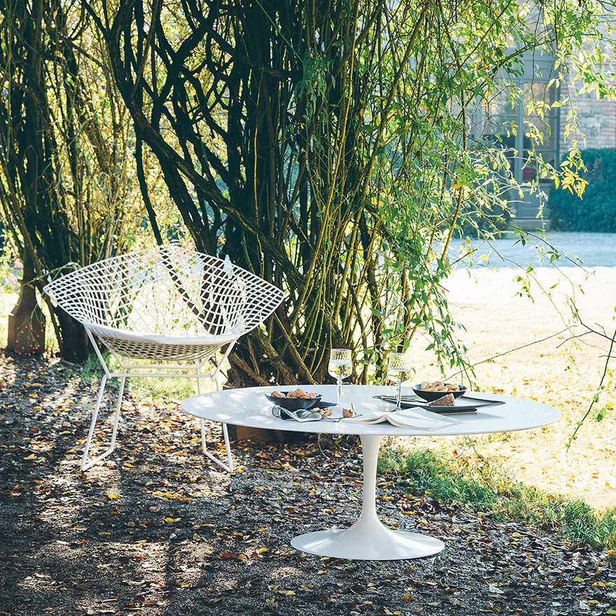 bertoia relaxsessel knoll outdoor sofas und sessel. Black Bedroom Furniture Sets. Home Design Ideas