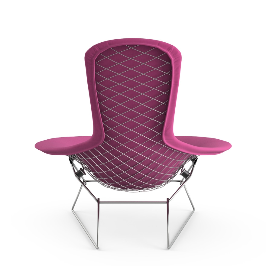 Bertoia Poltrona Relax schienale alto Knoll - Poltrone e divani