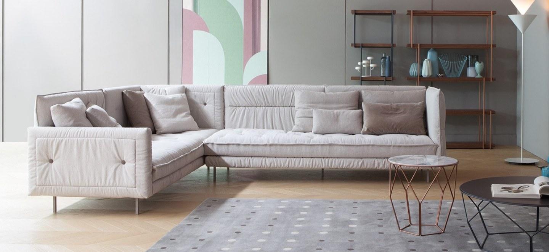 Alvar sofa bonaldo poltrone e divani - Tavolini poltrone sofa ...