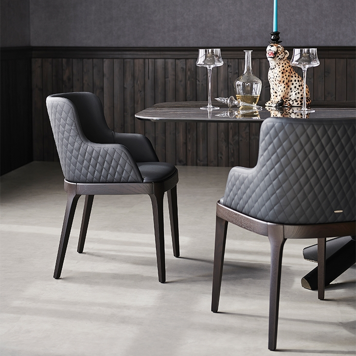 Outlet Stoelen Design.Magda Couture Cattelan Italia Chair