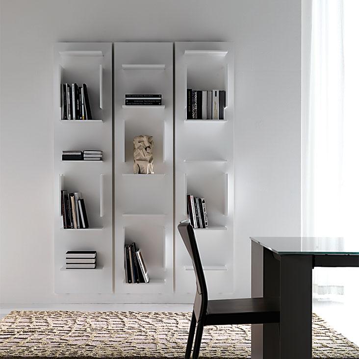 Fifty cattelan italia libreria for Librerie design outlet