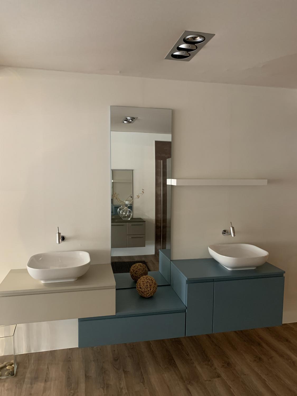 Badezimmer Mod. Loffy Azzurra - outlet - Prompte Lieferung