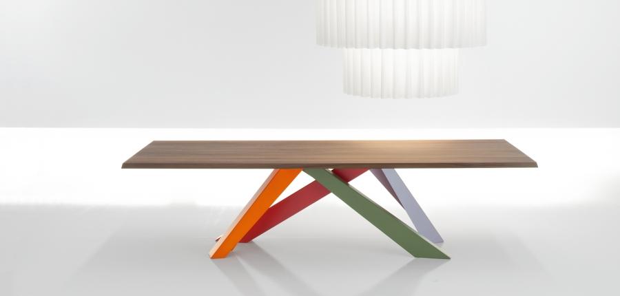 big table bonaldo tables. Black Bedroom Furniture Sets. Home Design Ideas