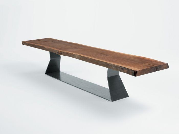 Bedrock Plank Bench Riva 1920