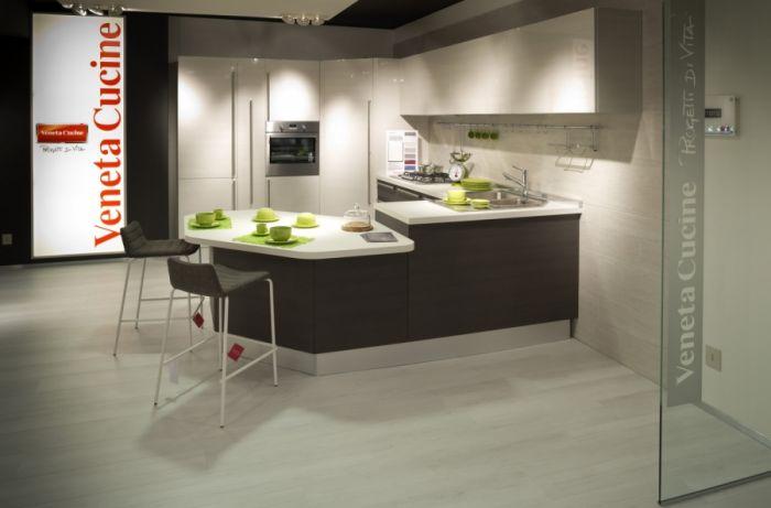 Cocina Carrera Lucido - Veneta Cucine