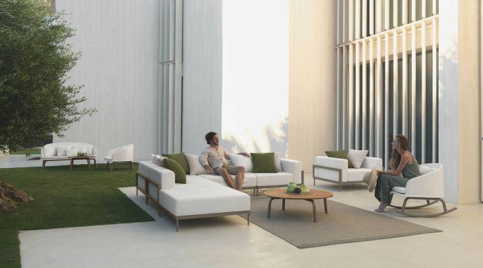 Cleo / Alu Talenti sofa