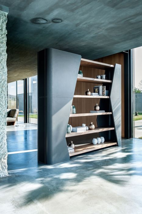 Finesse Bookcase - Riva 1920 by Lamborghini