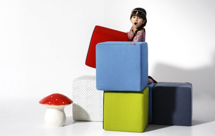 Cube Pouf - Nidi