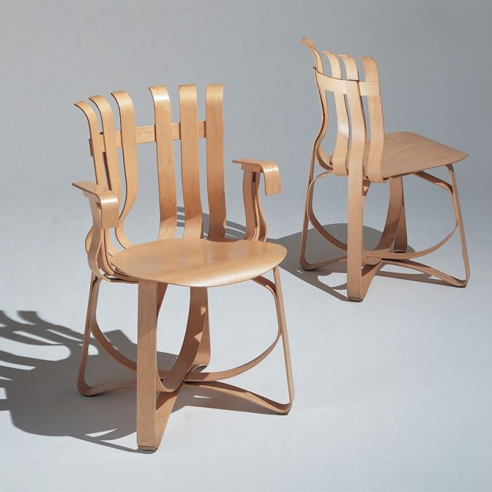 Hat Trick Knoll collezione Frank Gehry