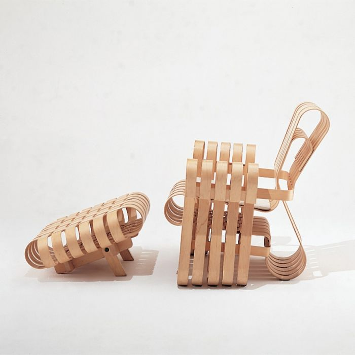 Power Play Knoll collezione Frank Gehry