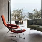 Bertoia Relax high back armchair Knoll