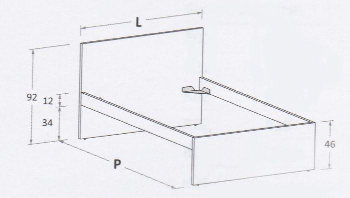 Nuk R01 (Mattress size 120 x 200cm)