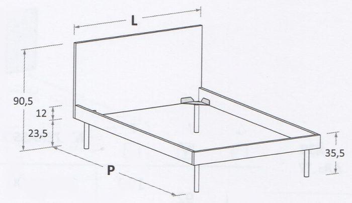 Nuk R04 (Mattress size 120 x 200 cm)