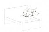 Bedside table  (C)
