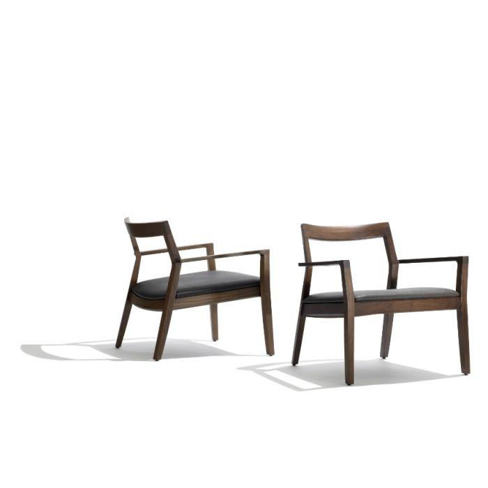 Marc Krusin Knoll armchair