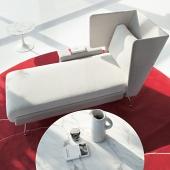 Architecture & Associés divano Knoll - Versione Residenziale