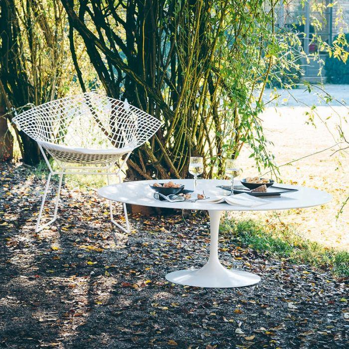 Saarinen Knoll - coffee table outdoor